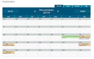 Kalender-Piktogramm